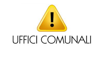 Emergenza Covid-19 – Avviso al pubblico per uffici comunali – Apertura SU APPUNTAMENTO